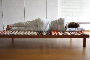 体型に合わせてベッドを調整