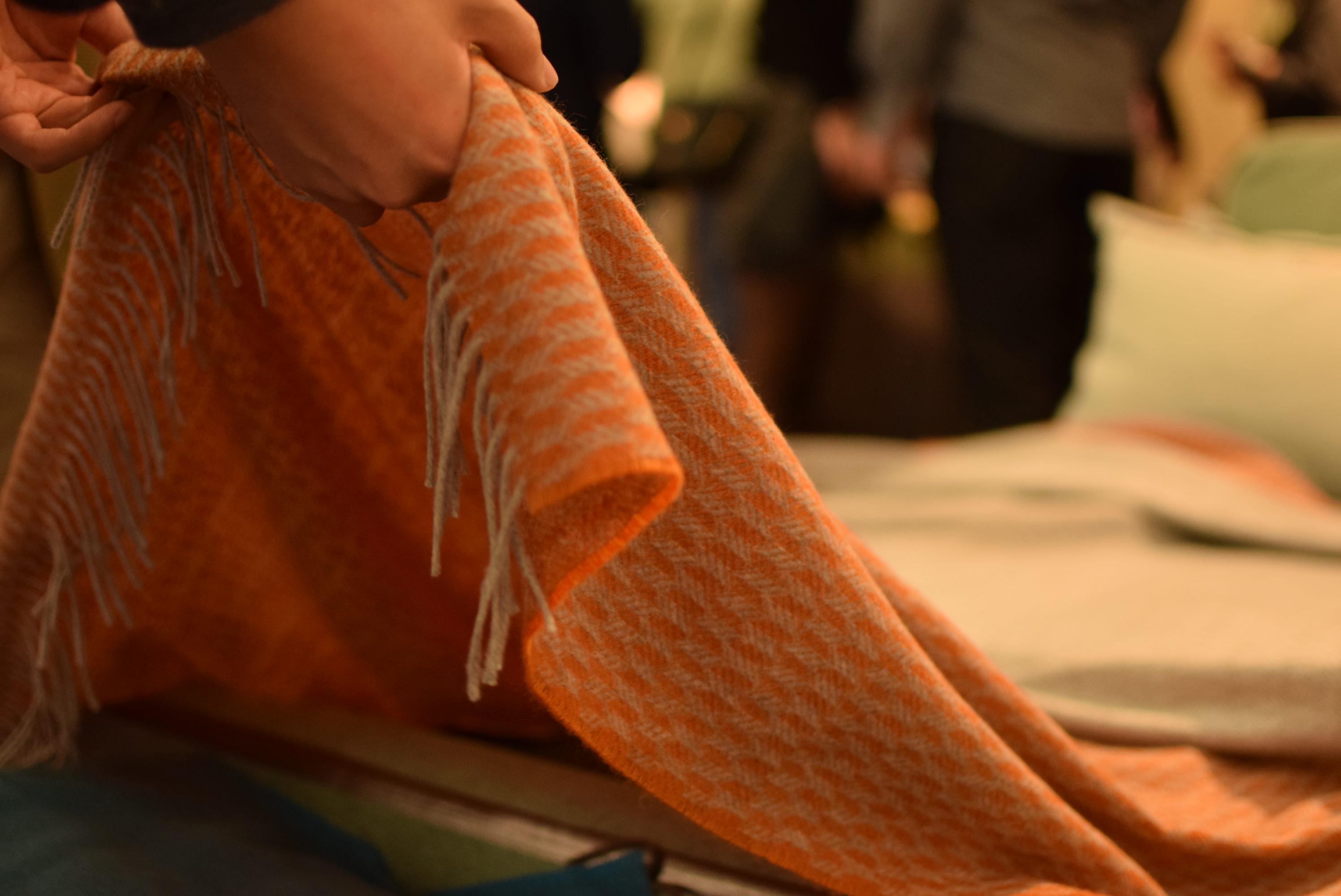 イタリア・マラゾット・カシミヤ毛布