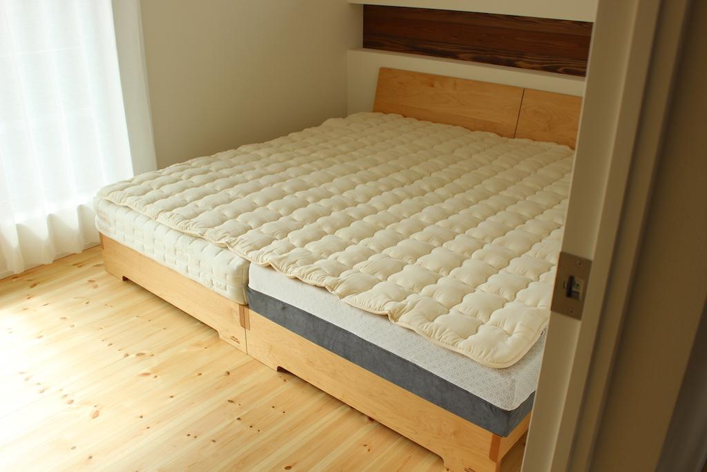 オリジナルウールベッドパッド