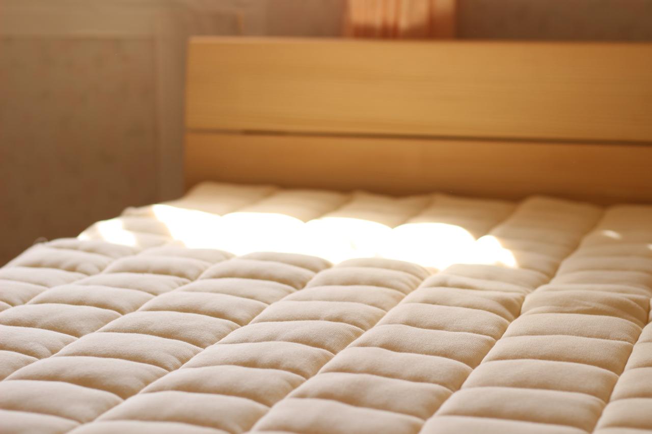 ビラベックウールベッドパッド