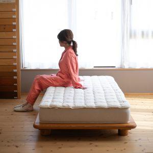 快眠屋オリジナルウールベッドパッド