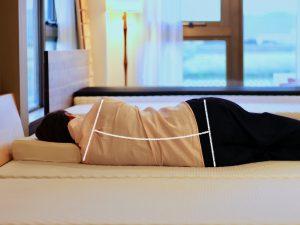 横向き寝の不良姿勢