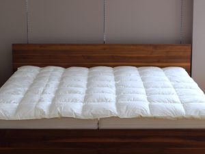 京都西川の羽毛布団を夏用にリフォーム