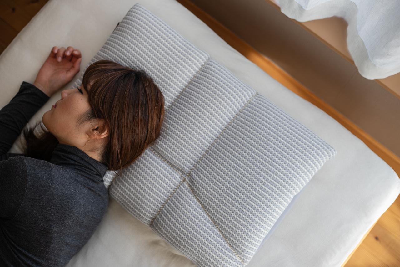 オーダーメイド枕横向き寝