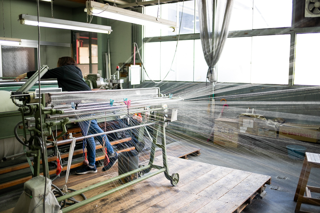 滋賀県麻工場の社会見学
