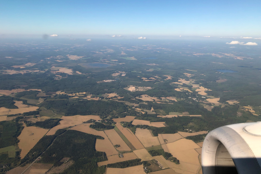 ポーランド航空写真