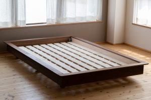 箱ベッドタイプ5|ウォールナット無垢材