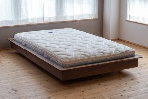 箱ベッドタイプ5 ウォールナット無垢材