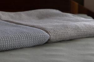 マラゾット カシミヤアルパカ毛布